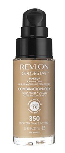 Revlon - Colorstay Dispenser Pelle Normale e Mista - Fondotinta Rich Tan
