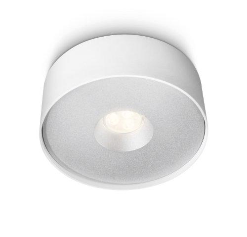 Philips Ledino LED-Deckenleuchte Syon 1-flammig dimmbar 6 W, weiß 321593116