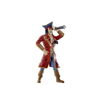 Bullyland - Bullyland Figurine World Figure Pirate with telescope 9 cm