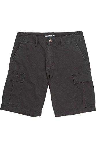 Pantaloni Corti Con Tasconi Element Howland Flint Nero (30 Vita = Eu 44 , Nero)