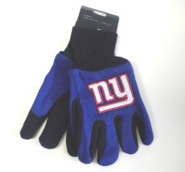 NFL New York Giants Kids Two Tone Gloves (New York Giant Gloves compare prices)