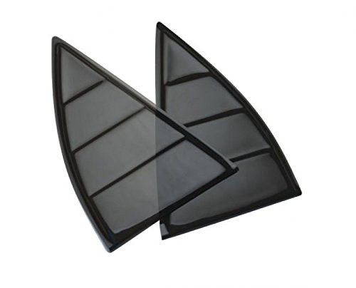 Defenderworx 2010-2012 Chevrolet Camaro Window Louvers (2012 Camaro Louvers compare prices)