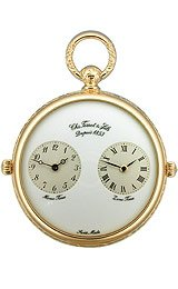 Tissot T-Pocket Gold-plated White Dial Pocket watch #T82.4.652.89