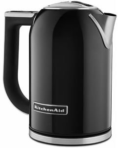Kitchenaid Stainless Steel Electric Variable Temp Water Kettle Kek1722Ob Black Fast Shipping By Fedex