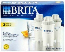 (Package Of 2) Brita OB03 Replacement Pitcher Filters (3-Pack)