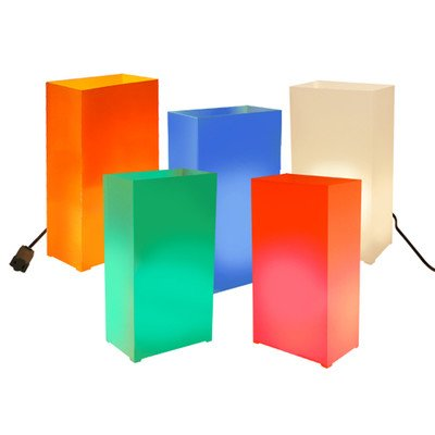 Electric Luminaria Kit Color: Party Time
