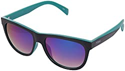 IDEE Mirrored Square Mens Sunglasses - (IDS1984C4SG|56 Green Gradient With Green Mirror Coating Color)