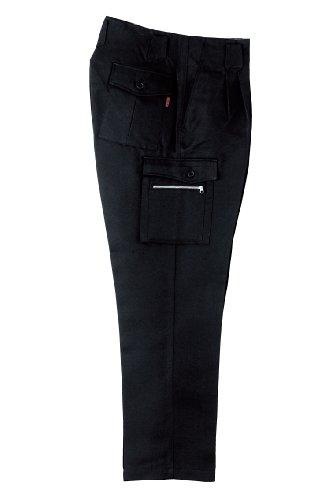 TADAIMA SANJO(只今参上) カーゴパンツ【鳶服】【ツータック】【w91cm〜100cm】 91 ブラック 1028