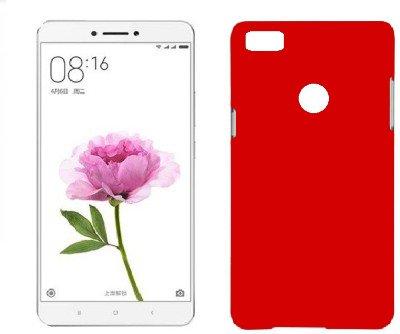 new styles 2e7a8 9e6e2 Mi Max Back Cover - Red by Johra Rubberised Slim Hard Back Cover Case For  Xiaomi Mi Max Back Cover