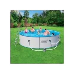Coleman 12 39 X 36 Steel Wall Fast Set Above Ground Swimming Pool 90373e 821808903733 Published