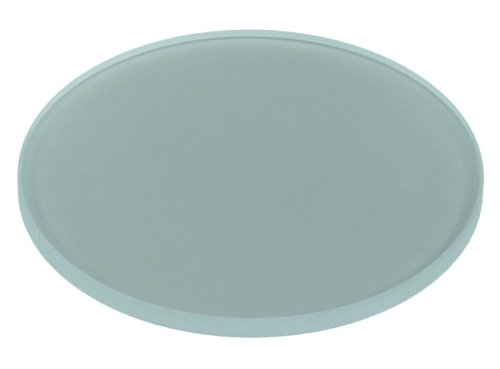 Omax 95Mm (3-3/4) Frosted Glass Stage Plate For Stereo Microscopes