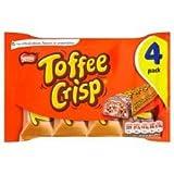 Nestle Toffee Crisp X 4 173G