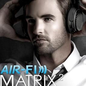 MEElectronics Air-Fi Matrix2 AF62 Stereo Bluetooth Wireless Headphones with aptX, NFC, and Headset