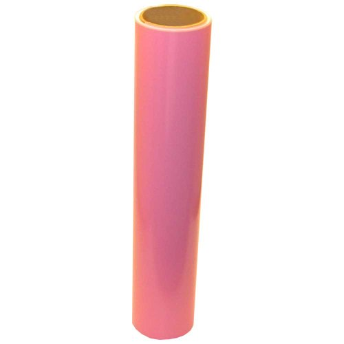Vinyl Oasis Craft & Hobby Vinyl - Gloss Bubble Gum Pink W/ Permanent Adhesive - (5) 12 In. X 24 In. Sheets front-1011107