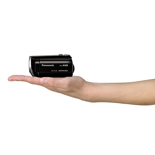 Panasonic HC-V130K Full HD 38X Camcorder Video Camera with 3.0-Inch LCD (Black)