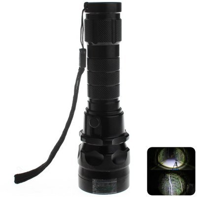 Comple Zweihnder Cree Xm-L2 U2 Water Resistant Led Torch (3-Modes 1000Lm 1 X 18650 Battery)