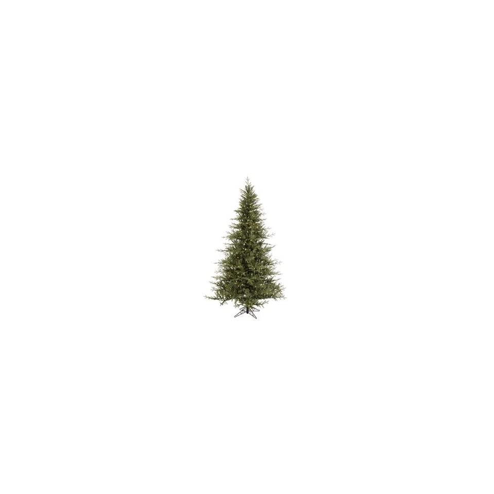 4.5 x 37 Castlerock Frasier Fir Christmas Tree w/ 402T & 135 LED Frosted WmWht Lights