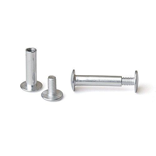 in. Aluminum Chicago Screws/Screw Posts (Qty 100