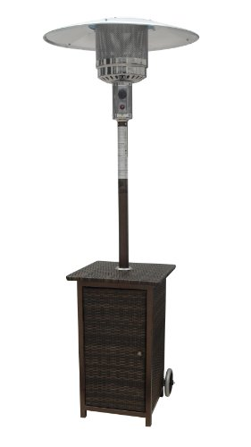 31NPuR5fgdL - BEST BUY #1 Palm Springs Rattan Wicker Patio Heater