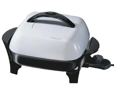 National Presto Ind 06620 Electric Skillet With Lid, 11-In. - Quantity 3