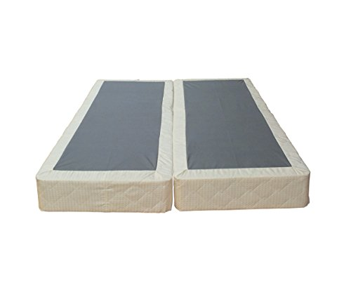 Continental Sleep 8 Inch Queen Size Fully Assembled Split