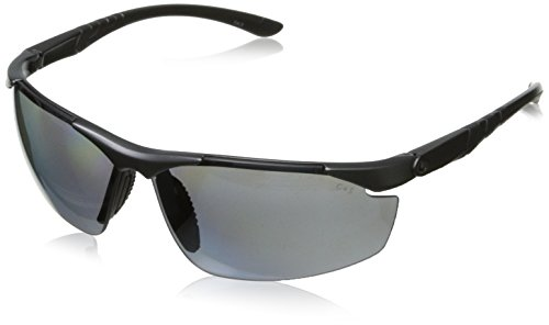 Gargoyles Men's Assault 10700090.QTM Polarized Wrap Sunglasses,Metallic Dark Gun,69 mm