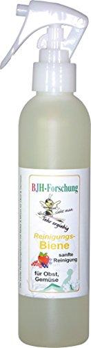 BJH-RerinigungsBiene-Obst-Gemse-200ml-Sprhflasche-pflanzliche-Basis-mit-Zitronen-und-Kruterkraft-zum-Reinigen-vor-dem-Verzehr-sanfte-Reinigungsehr-sparsam-ohne-Konservierungohne-Duftstoffeohne-PEGohne