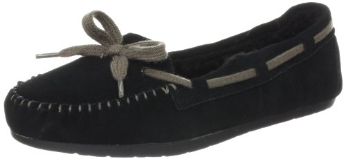 Skechers Women's Bobs-Hug And Kisses Slipper,Black,11 M US