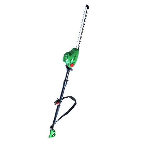 bmc-450-watt-230v-electric-telescopic-long-reach-pole-hedge-trimmer-cutter-with-rotating-head-and-fi