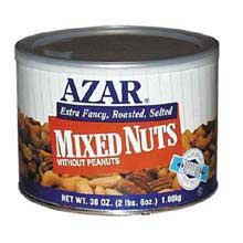 Mixed Nuts No Peanut Extra Fancy -- 6 Count 2.38 Pound (Azar Nut Company compare prices)