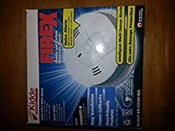 Kidde KN-COSM-IB-Smoke & Carbon Monoxide Alarm Detects Flaming Fires & CO Hazard Voice Message Warning 120V Wire-in with Battery Backup Interconnect able