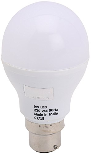 Daril-Lighting-9-Watt-Aluminum-LED-Bulb-(White)