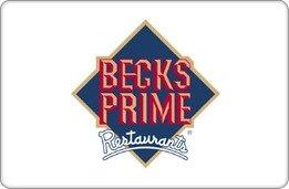 Becks Prime Gift Card ($10)