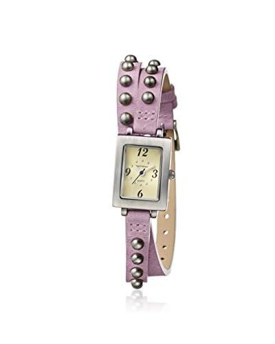 TOKYObay Women's TL753-PK Armor Pink/Ivory Brass-Plated Watch