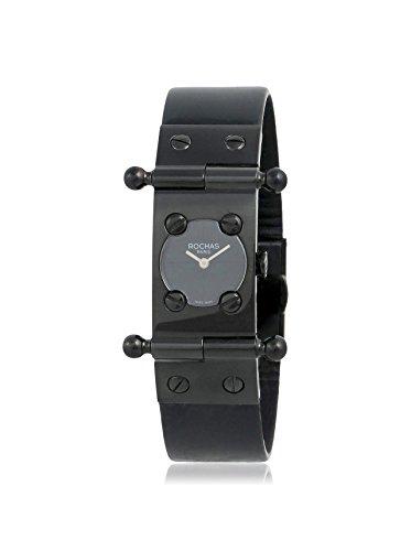 Rochas of Paris Women's RH9052LBBB Black Stainless Steel Watch