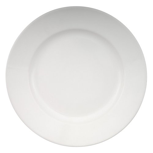 Buy Zak Designs Moxie White 9-1/2-inch Salad Plate, Set of 4