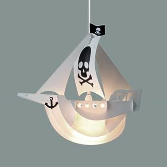 cool children 39 s white pirate ship bedroom ceiling pendant