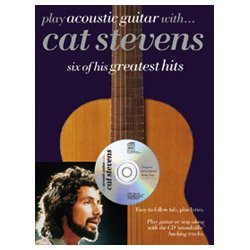 Music Sales Play Acoustic Guitar With Cat Stevens Book & CD