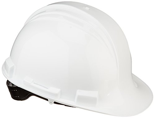 Honeywell A59010000 A59 The Peak Hard Hat, Pin Lock, 4-Point Plastic Suspension, White (Hard Hat Honeywell compare prices)