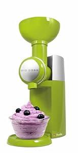 Big Boss 9388 Swirlio Frozen Fruit Dessert Maker, Green by Big Boss