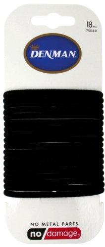 denman-elastici-per-capelli-18-pz-colore-nero