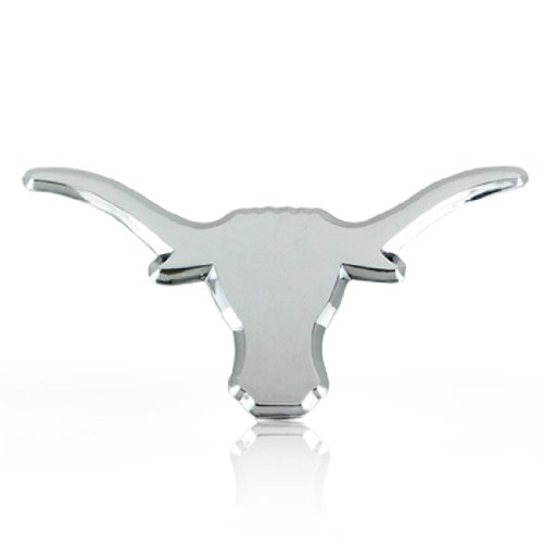 University of Texas Longhorn 3d Chrome Metal Auto Emblem at Amazon.com