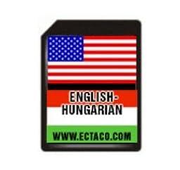 Ectaco SD C-4 Ehu SD Card English-Hungarian