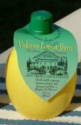 Volcano Lemon Juice (Six 6.7oz bottles )