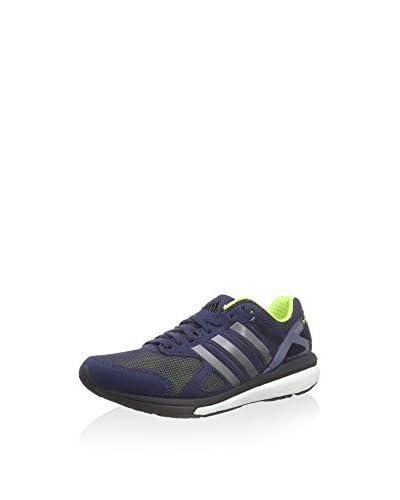 adidas Adizero Tempo 7 W, Damen Laufschuhe, Blau (Midind/Ironm), 36 EU (3.5 Damen UK) Blau (Midind/I...
