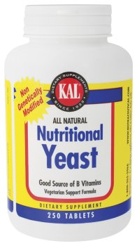KAL - Brewers Yeast, 250 tablets