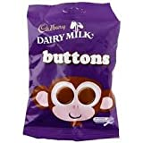 Dairy Milk Buttons - 6 Pack