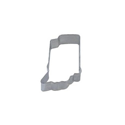 Dress My Cupcake DMC41CC1413SET Indiana State Cookie Cutter, Set of 12