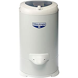 White Knight 28009W Gravity Drain Spin Dryer, 2800 rpm, 4.1 Kg