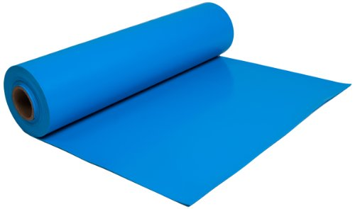 "ESDProduct Vinyl General Purpose Mat Roll, 3/32"" Thick, 40' Length, 2' Width, Blue at Sears.com"